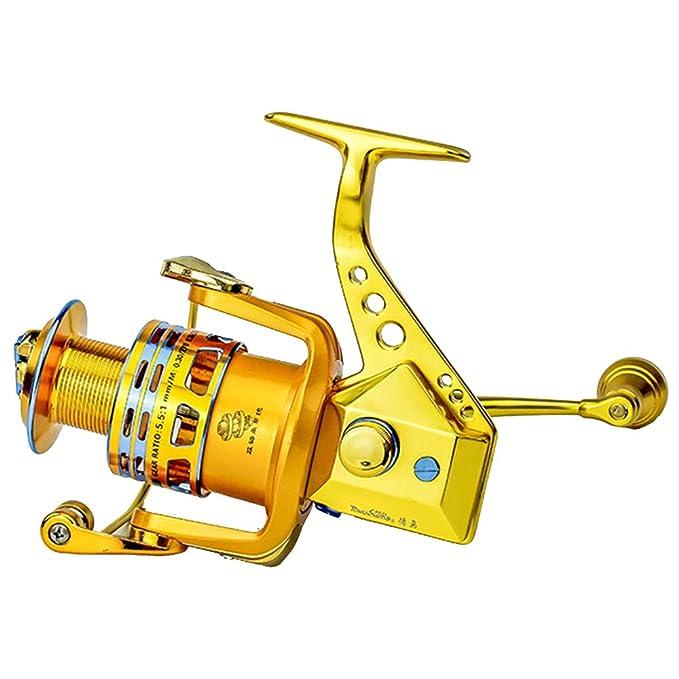 SXSHYUFG Metal Wire Cup Carrete De Pesca 16 + 1 + 1 Eje Carrete De ...
