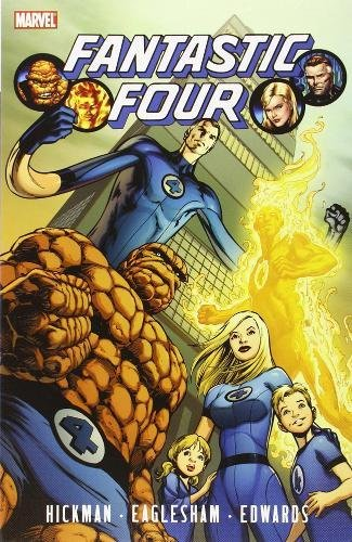 Fantastic Four by Jonathan Hickman, Vol. 1