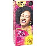 Salon Line Tintura Permanente 1 Preto Azulado Unit, Color Total