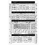 1 X VFR Flight Planning Log Pad