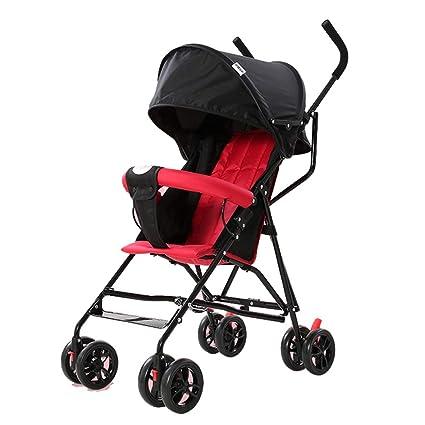 WYNZYYESTC Carro Plegable Para Bebés, Paraguas Semi ...