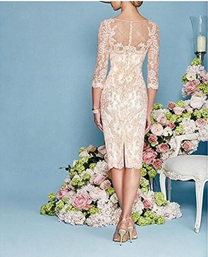 Snow Lotus Women's 2 Pc ,Knee Bridal Gown Gray