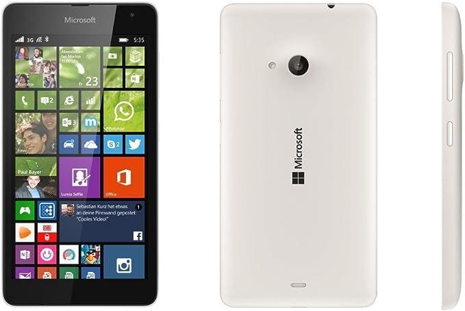 Microsoft Lumia 535 - Smartphone Telcel Libre (Pantalla 5