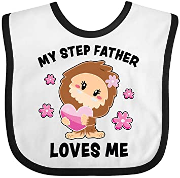inktastic My Step Dad Loves Me with Bigfoot Toddler T-Shirt