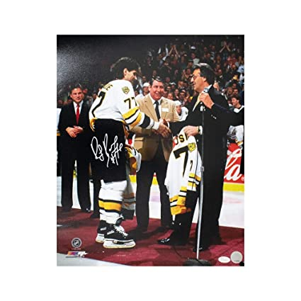 Ray Bourque Autographed Boston Bruins 16x20 Photo - JSA COA at ... 74d5c0802