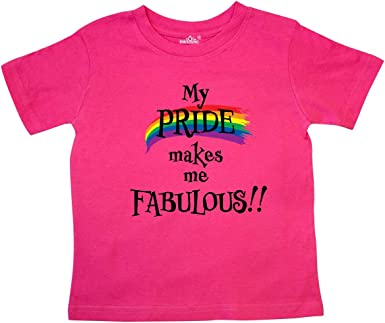 Pride Rainbow Heart Baby T-Shirt inktastic I Love My 2 Dads