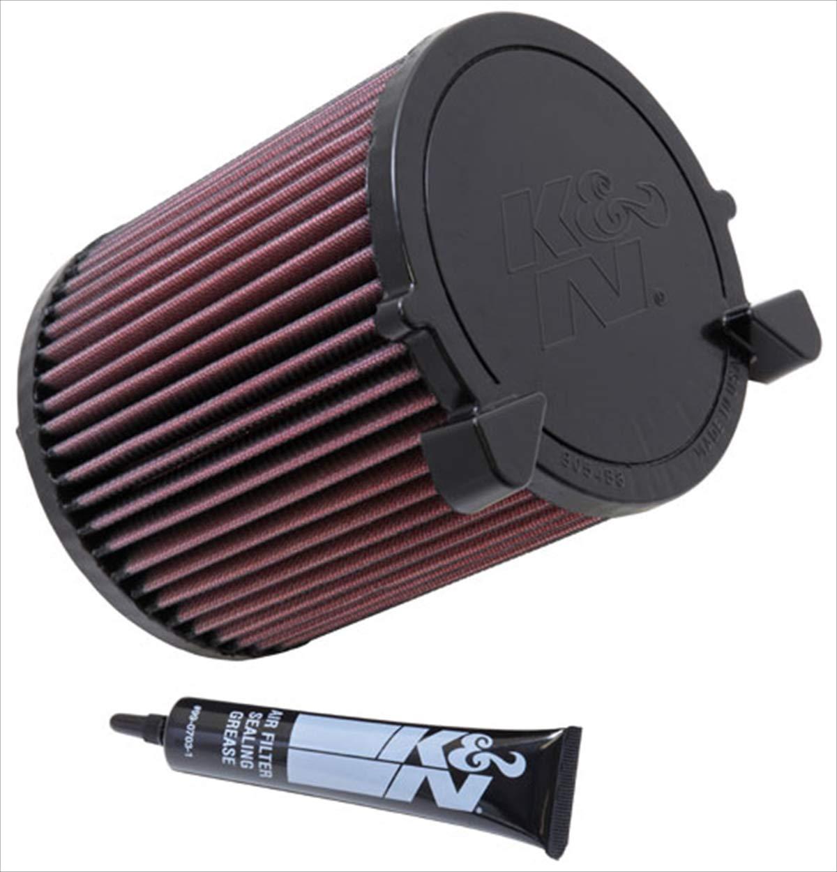 【並行輸入品】 K&N 純正交換 エアフィルター AUDI / VW 用 E-2014 型番 : E-2014  B000COC35E