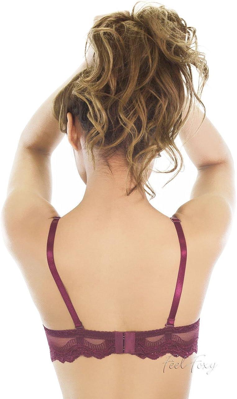 Rene ROFE Womens Lace Underwire Bra