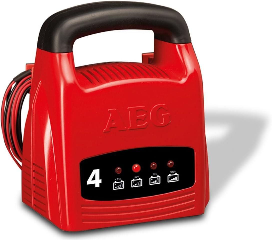 CE AEG 97000 Ladeger/ät LK 1204 IP 20 4 Ampere f/ür 12 V Batterien