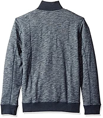 Calvin Klein Jeans Men's Cross Dye French Terry Crew Neck Sweatshirt