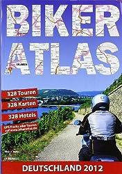 Biker-Atlas Deutschland: Motorrad-Tourenplaner und Hotelführer Deutschland. 382 Tourentipps