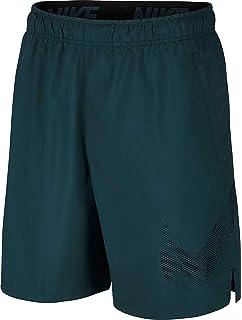 3aa52ffd08f4 Nike Dri Fit Men s Flex Woven Standard Fit Athletic Shorts (Gray   Black