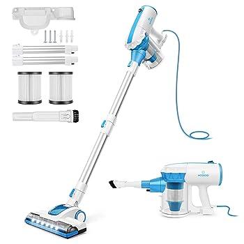 MOOSOO D601 Lightweight Vacuum Cleaner for Elderly