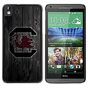Impact Case Cover with Art Pattern Designs FOR HTC DESIRE 816 South Carolina Cocks Football Betty shop