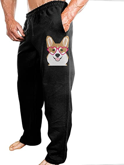 Funny Corgi Kids Cotton Sweatpants,Jogger Long Jersey Sweatpants