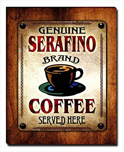 ZuWEE Serafino's Coffee Family Name Gallery Wrapped Canvas Print (Serafino Print)