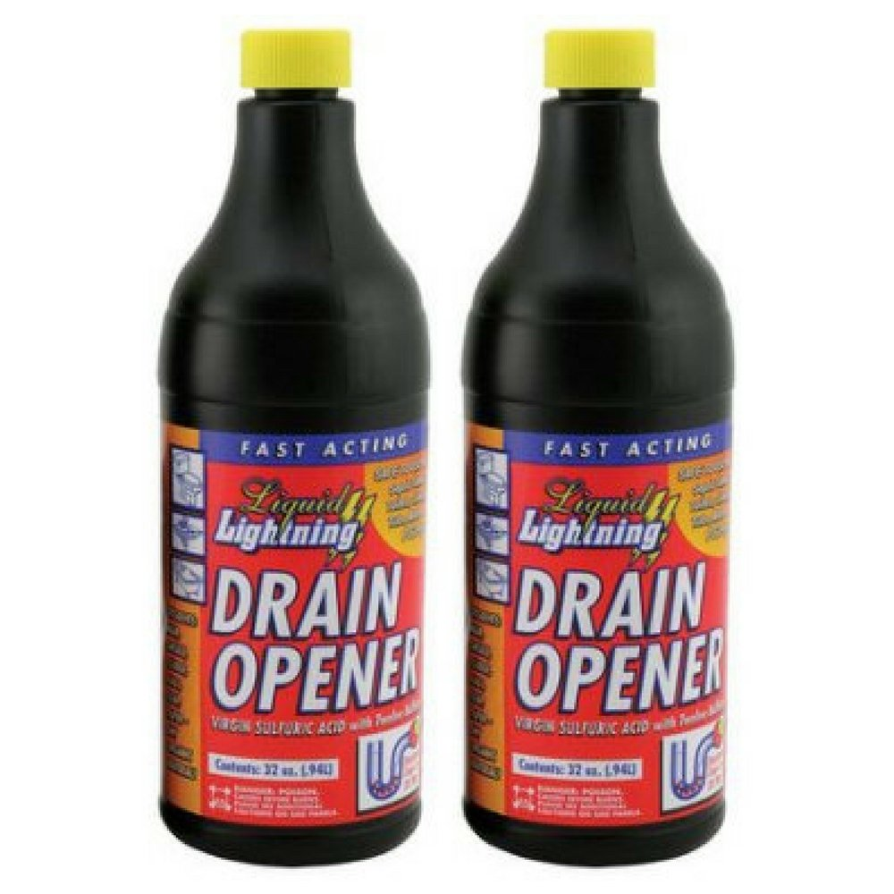 Liquid Lightning Buffered Sulfuric Acid Drain Cleaner (pack of 2)