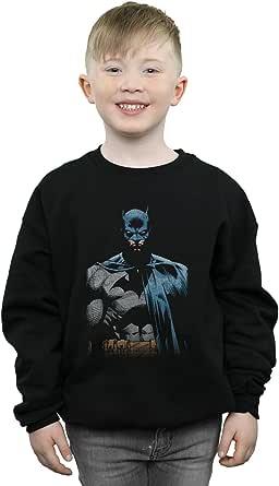 DC Comics Niños Batman Close Up Camisa De Entrenamiento