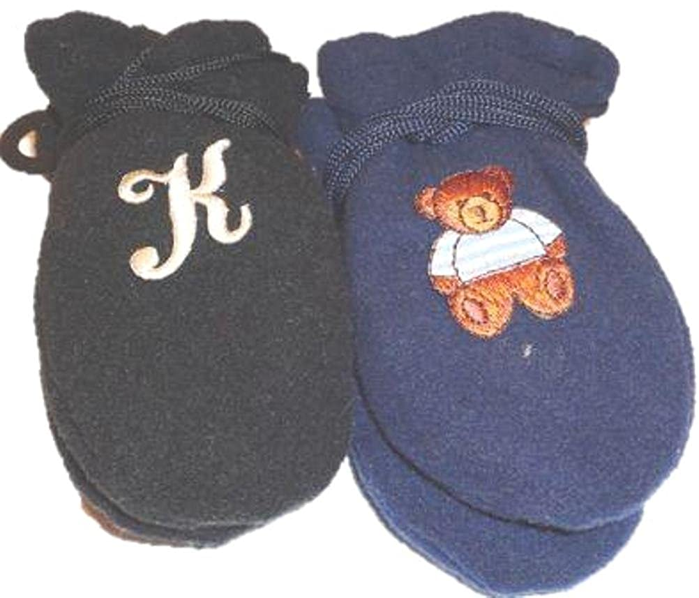 Two Pairs Mongolian Fleece Mittens One with Customer Chosen Monogram