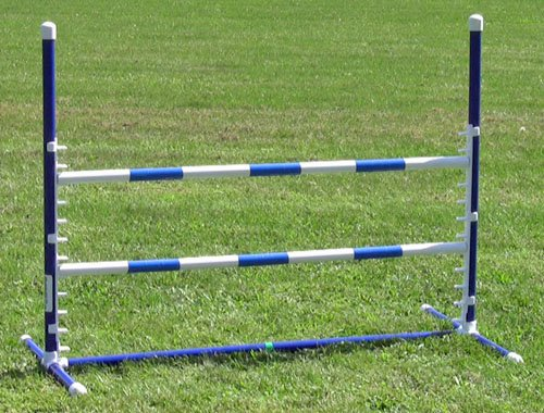 Affordable Agility Blue Competition Adjustable Jump by Affordable Agility