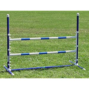 Affordable Agility Blue Competition Adjustable Jump 32