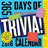 365 Days of Amazing Trivia! Page-A-Day Calendar 2016