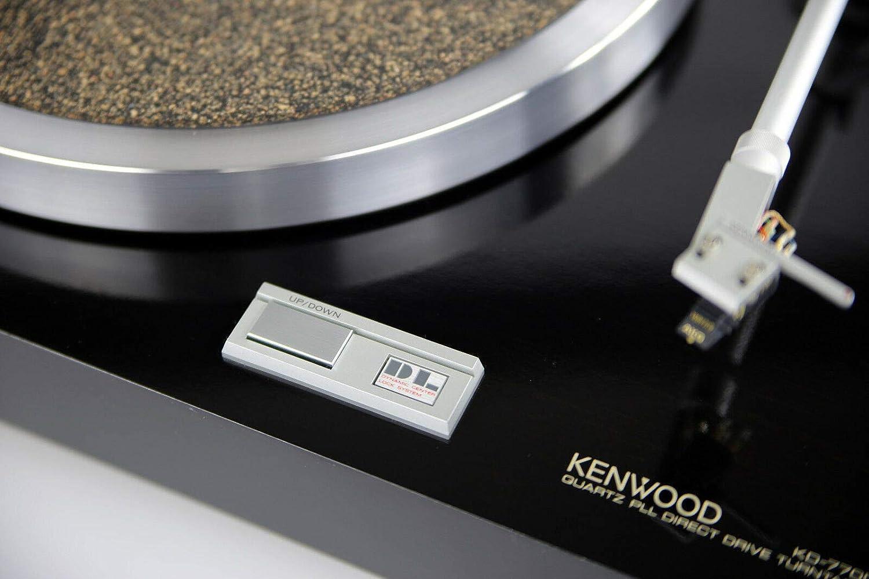 Kenwood KD 770D - Tocadiscos, Color Negro: Amazon.es: Electrónica