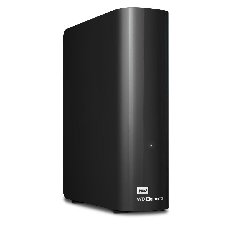 WD wdbwlg0080hbk-eesn 8TB Elements Desktop USB 3.0 Festplatte fü r Plug, Schwarz Western Digital