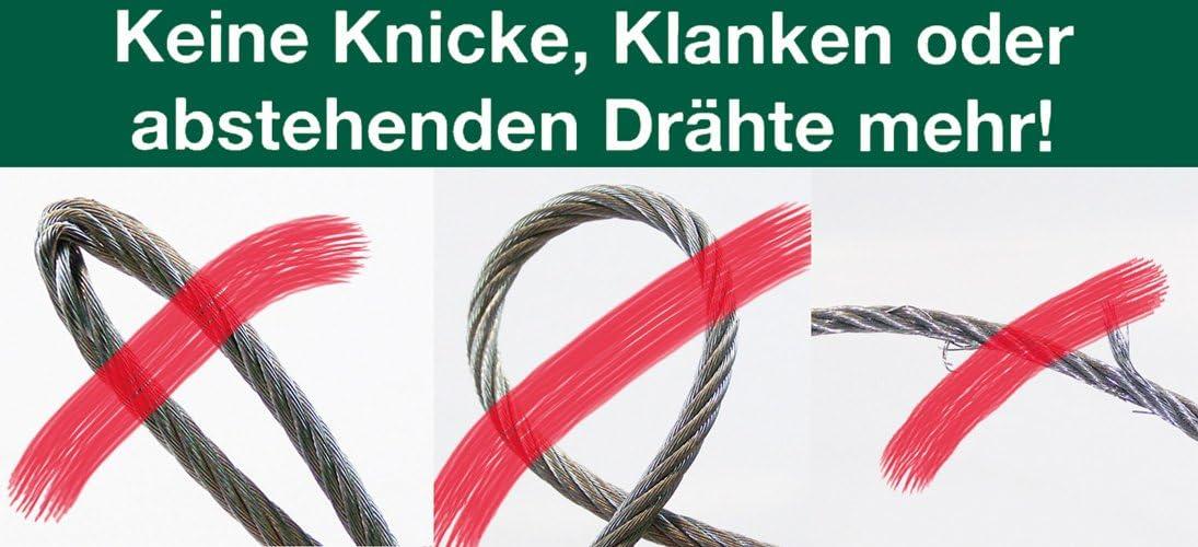 Berger Schr/öter 31766 Profi-Seilwinde Synthetikseil 12 V