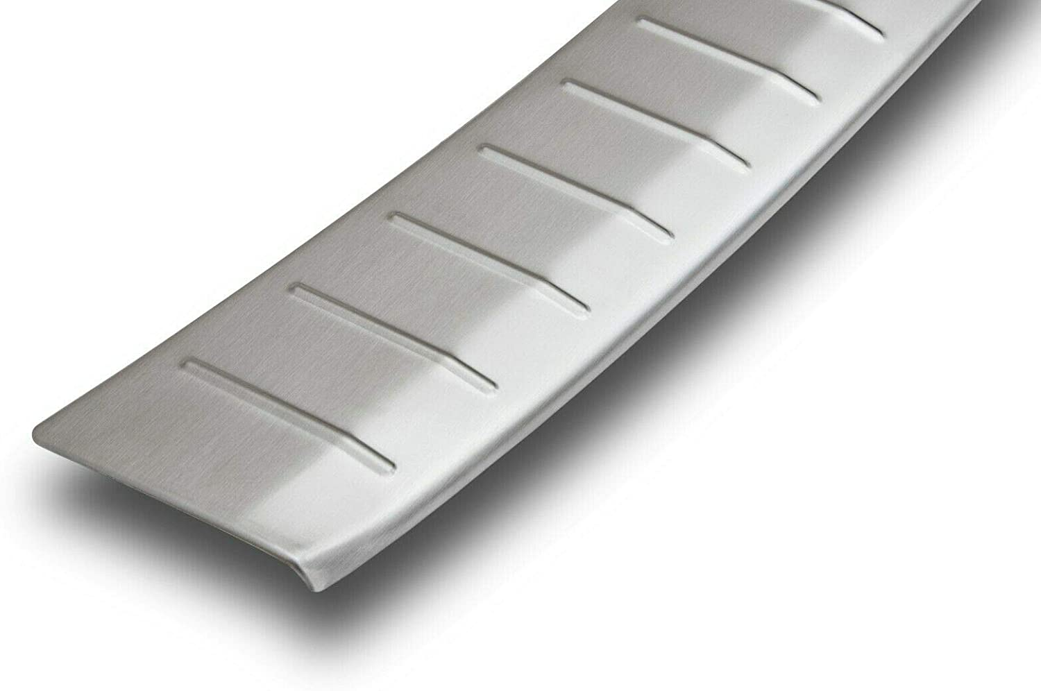 Large Year of Manufacture 2010-2018 Recambo CT-LKS-2581 Boot sill Protection Stainless Steel matt for VW Touareg II Type 7P