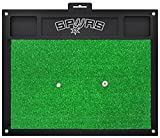 Fanmats NBA San Antonio Spurs Team Logo 20 X 17 Inch Golf Hitting Mat Green