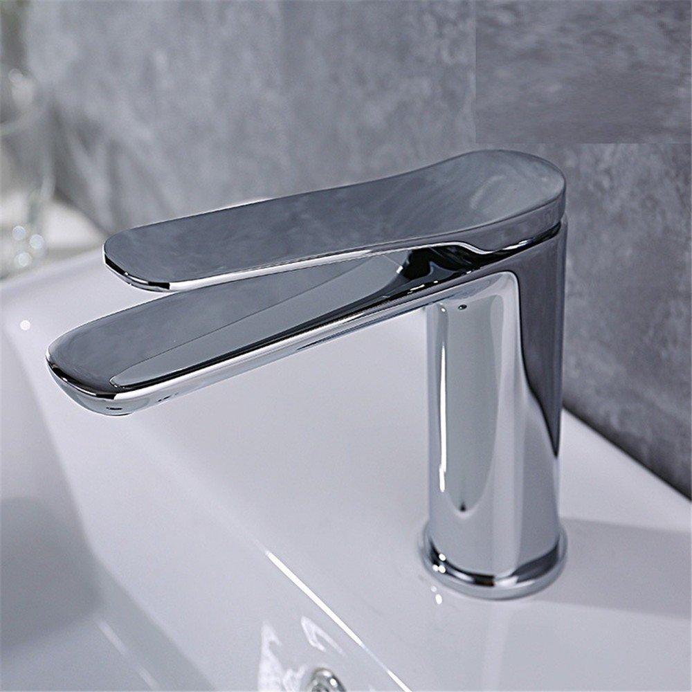 Alle Bronze Chrom Lange Mund Warm und kalt Waschbecken Wasserhahn Haushalt Wassersparendes Wasser Spüle Waschbecken Wasserhahn