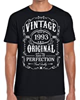 Funky NE Ltd Vintage - Made in 1993 - Aged to Perfection - Ideal Present - Tshirt - 100% Cotton - Small to XXL - 3 Colours - Great Gift Idea by