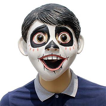 Halloween Máscara De Látex Sueños Viaje Coco Little Boy Diablo Sombrero Estilo De Película Props para Ropa Fiesta: Amazon.es: Juguetes y juegos
