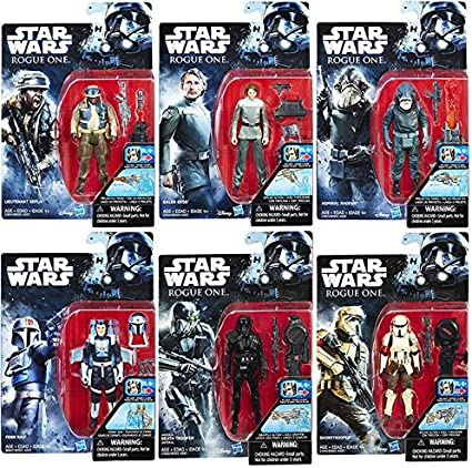 Star Wars Rebels 3 3//4 Action Figures
