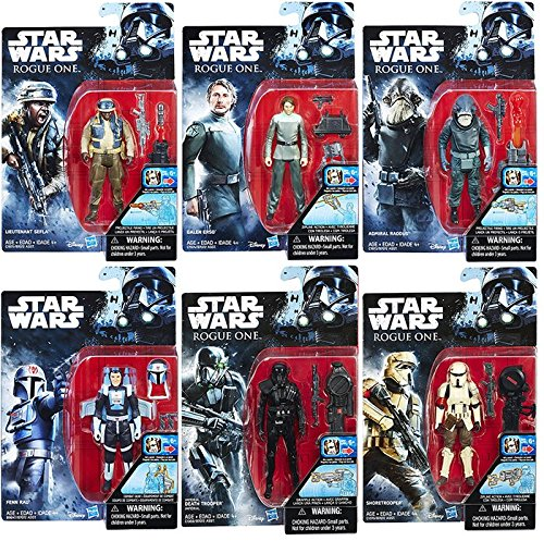 Wave 4 Action Figure Case - Star Wars Rogue One 3 3/4-Inch Action Figures Wave 4 Set