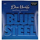 Dean Markley Blue Steel Cryogenic Activated Bass Guitar Strings, 46-102, 2673, Custom Light