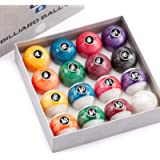 GSE Games & Sports Expert 2 1/4-Inch Professional Regulation Size Billiards Pool Balls Set (Several Styles Available)