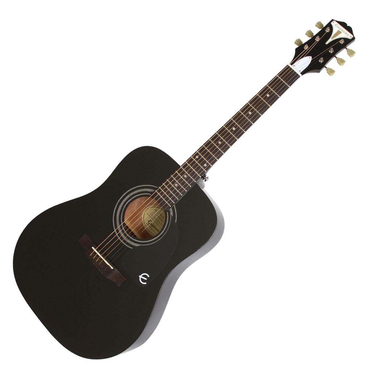 Epiphone 6 String PRO-1 Acoustic, Ebony (EAPREBCH1)