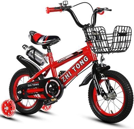 KaiKai Bicicleta Bicicleta de Acero de Alto carbón del Peso Ligero del Cabrito de los niños