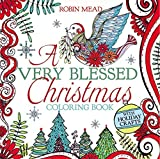 img - for A Very Blessed Christmas Coloring Book book / textbook / text book