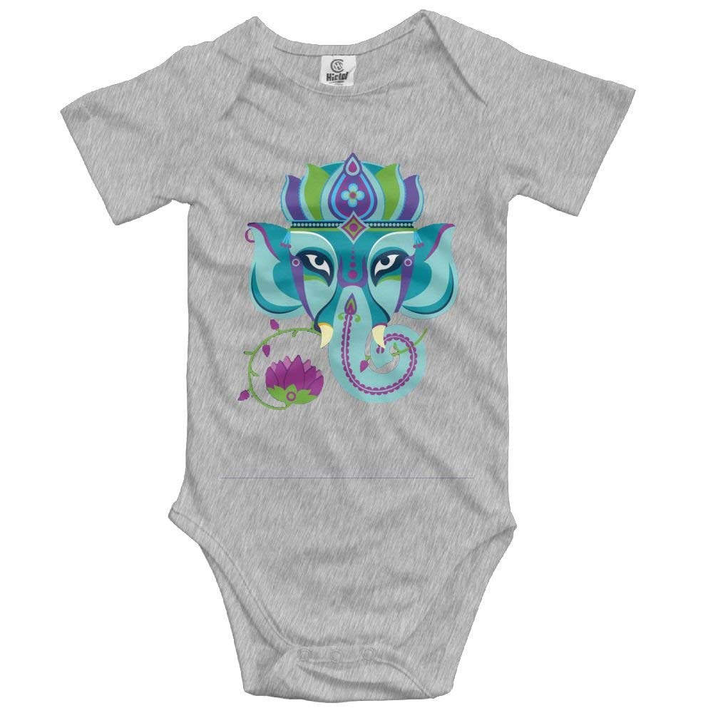 Elephant Sun India Baby Onesies Toddler Baby Boy Unisex Clothes Romper Jumpsuit