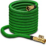 100ft Garden Hose - ALL NEW Expandable Water Hose with Double Latex Core