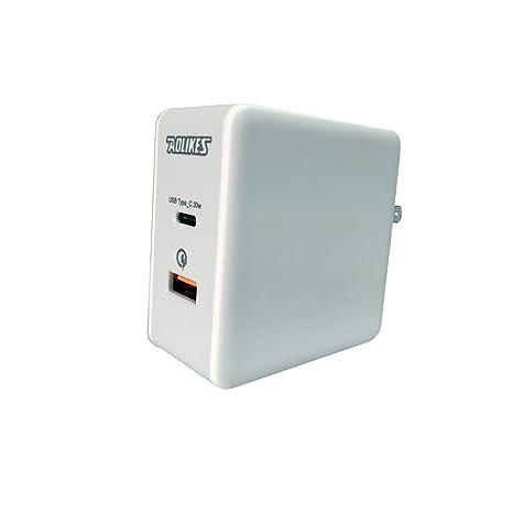 Amazon.com: 48 W USB Cargador de computadora Viaje Type-C ...