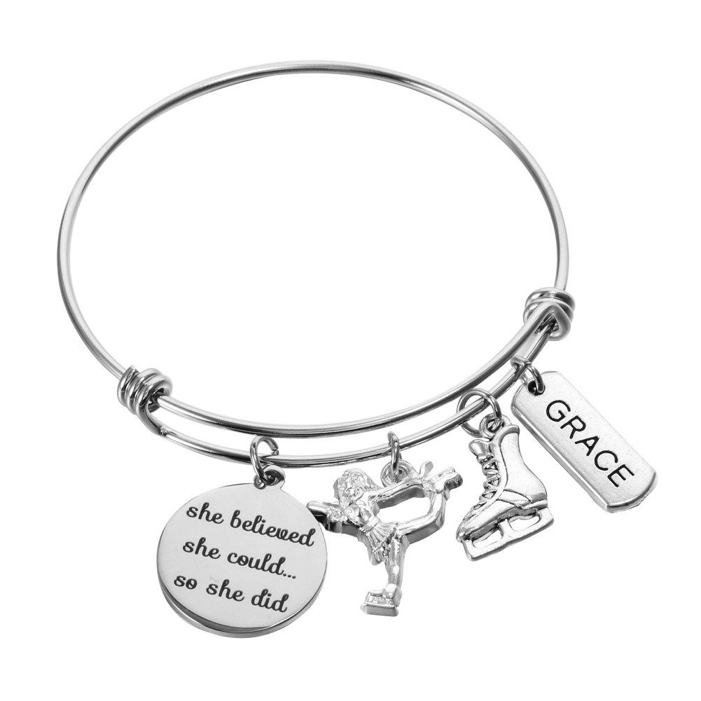Catholic Gifts St Saint Gerard Fertility Bracelet Bangle Jewelry Religious Jewelry Bracelet for Women Charm Gifts Catholic Bracelet Bangle for Women Men Boys and Girls