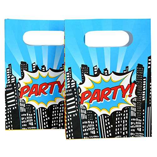 Superhero Party Kids Loot Bags