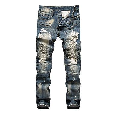 a03680b5 BOLAWOO Men Men Splicing Nightclub Self Men Men Type Cultivation Without  Fashion Brands Bullets Men Men Jeans Smashed Straight Pants Mid Waist Cuff  Denim ...
