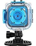 Fotocamera per Bambini,PowerLead GACD WiFi 1280P 2MP Subacquea Bambini 20m Waterproof Fotocamera Sports per Bambini