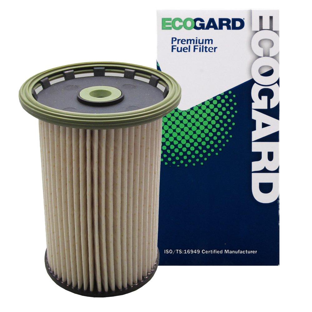 Amazon.com: ECOGARD XF10230 Diesel Fuel Filter - Premium Replacement Fits  Volkswagen Touareg/Porsche Cayenne: Automotive