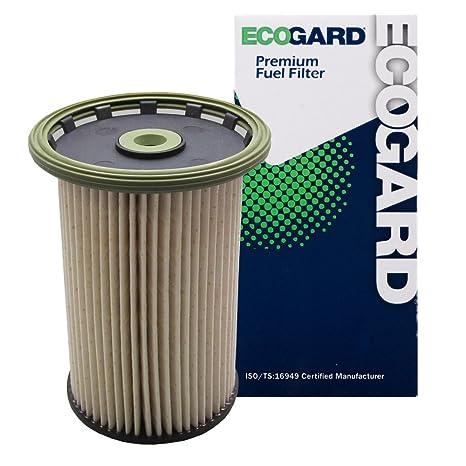 amazon com: ecogard xf10230 diesel fuel filter - premium replacement fits  volkswagen touareg/porsche cayenne: automotive